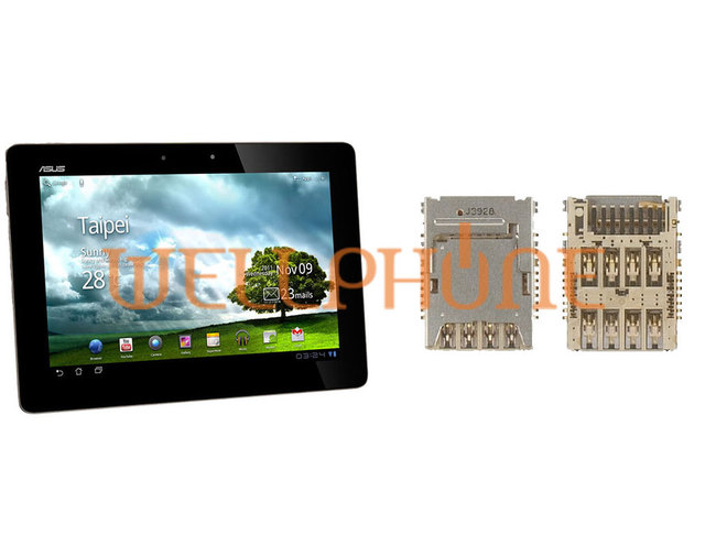 remplacement lecteur carte sim tablette asus eee pad transformer prime tf201. Black Bedroom Furniture Sets. Home Design Ideas