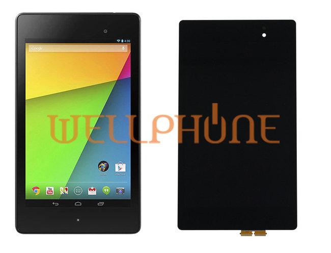 r paration bloc complet cran tactile lcd tablette asus nexus 7 2013 me571kl. Black Bedroom Furniture Sets. Home Design Ideas